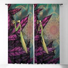 Praying Mantis Blackout Curtain