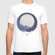 Destiny - Milkyway MEDIUM White Mens Fitted Tee