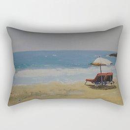 Beach Romance Rectangular Pillow
