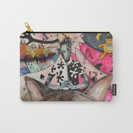 """Cat"" illustration Carry-All Pouch"