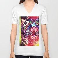 kafka V-neck T-shirts featuring franz kafka - by stoneRage