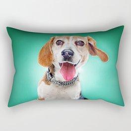 Super Pets Series 1 - Super Buckley 2 Rectangular Pillow