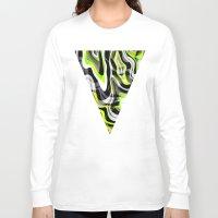 neon Long Sleeve T-shirts featuring Neon by Marta Olga Klara