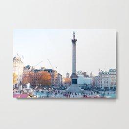 Trafalgar Square Metal Print