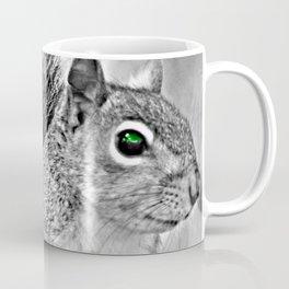 Green Eye Squirrel Coffee Mug