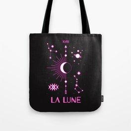 The Moon or La Lune Neon Edition Tote Bag