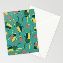 Exotic Beetle Stationery Cards
