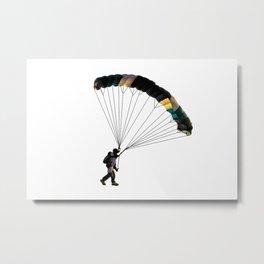 Parachute Metal Print
