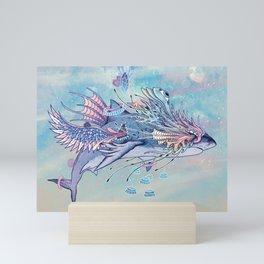 Journeying Spirit (Shark) Mini Art Print