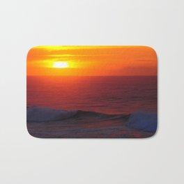 Breathtaking Sunset - Casablanca Morocco Bath Mat