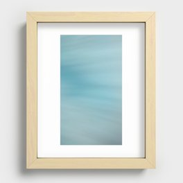 Blue Burst Recessed Framed Print