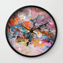 ILLUSIVE MOUNTAINS Wall Clock