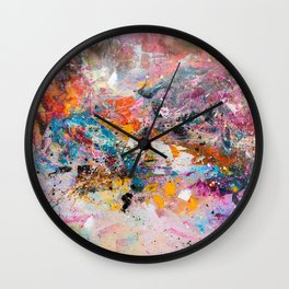 ILLUSIVE MOUNTAINS Wall Clock