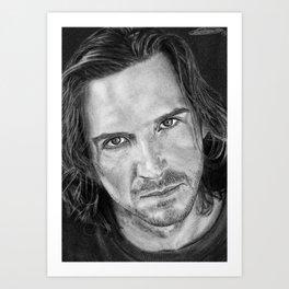 Ralph Fiennes Art Print