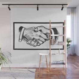 Handshake Wall Mural