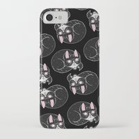 loll3 iPhone & iPod Cases featuring Home is where my Cat is by lOll3
