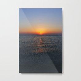 Persian Gulf Sunrise Metal Print