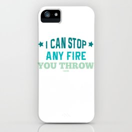 Fire Department Fire Hero emergency gift iPhone Case