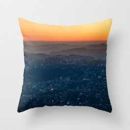 Landscape Photography by Sayan Nath Throw Pillow