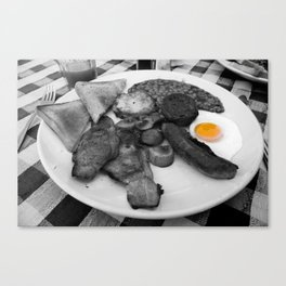 Fry Up Canvas Print