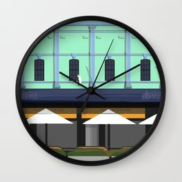 Cafe Berry Street Nowra Historic Architecture Wall Clock