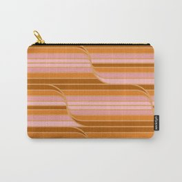 Geo Stripes - Butterscotch Carry-All Pouch