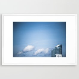 Colors city Framed Art Print