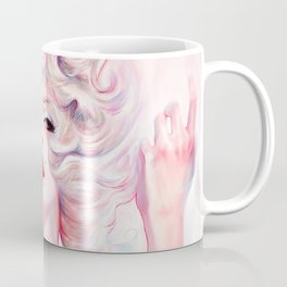 SUPERNOVA. Marilyn. A smart girl leaves before is left. Coffee Mug
