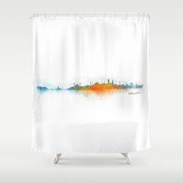 Istanbul City Skyline Hq v3 Shower Curtain