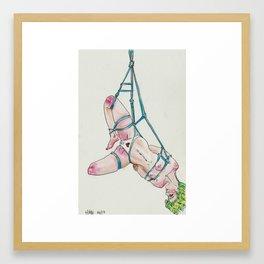 4/16 | BDSM Watercolor Series Framed Art Print