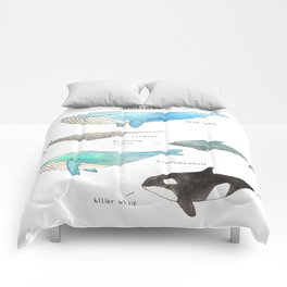 Whale collection Comforters