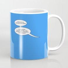 Trabajo duro circulo Coffee Mug