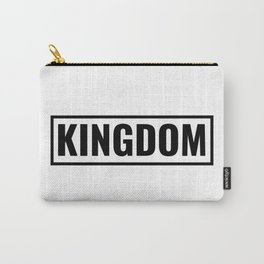 KINGDOM black logo Carry-All Pouch