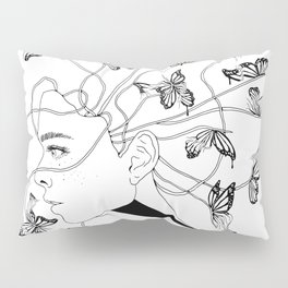 Figments II (Head Full of Broken Realities) Pillow Sham