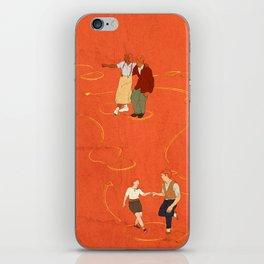 Sing, sing, sing! iPhone Skin