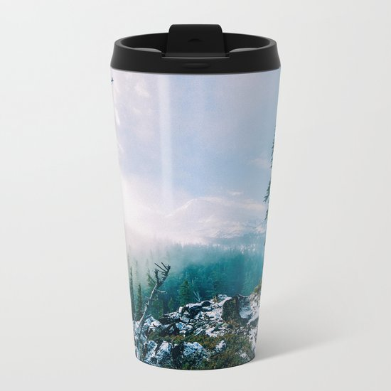 Overlook the Wilderness Metal Travel Mug