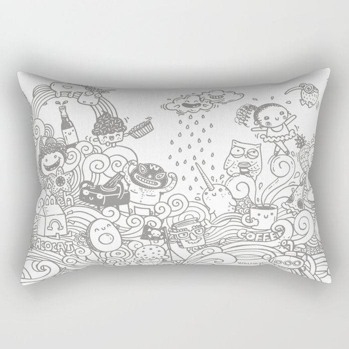 walmazan world Rectangular Pillow