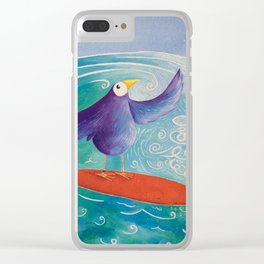 Surfs Up! Clear iPhone Case