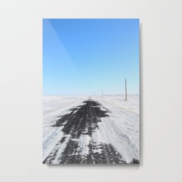 360 North Metal Print