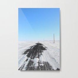 360 North Metal Print