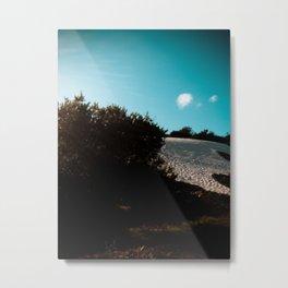 Dunas and Sky Metal Print