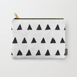 Aztec minimal triangles Carry-All Pouch