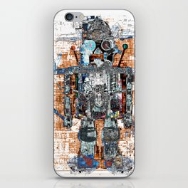 Awesome Giant Robot with Cat iPhone Skin