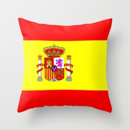 spain country flag Throw Pillow