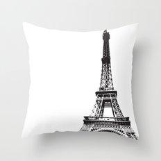 WE LOVE PARIS Throw Pillow