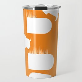 B is for Bison - Animal Alphabet Series Travel Mug