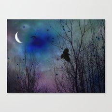 Just Around Midnight Canvas Print