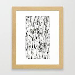 floating space  Framed Art Print