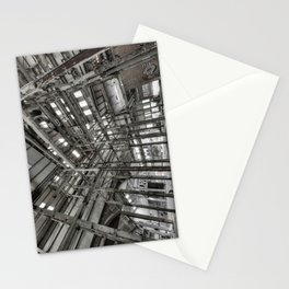 Metallic Structures Stationery Cards
