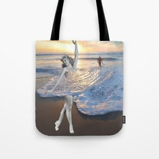 Like a wave Tote Bag